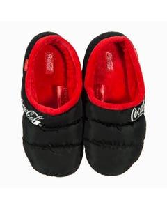 Coca-Cola Women's Puffer Slippers