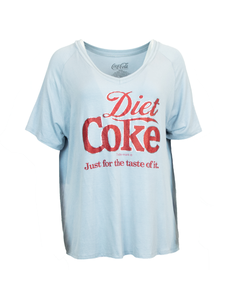 Diet Coke Foil Women's V-Neck Tee