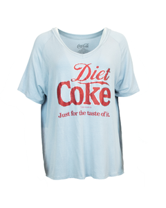 Diet Coke Foil Women's V-Neck Tee