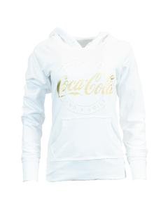 Coca-Cola Women's Glitter Foil Hoodie