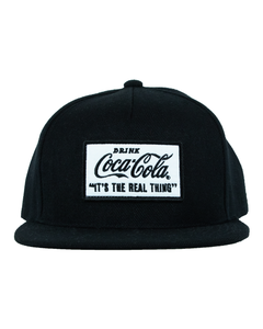 Coca-Cola Real Thing Flat Bill Baseball Cap