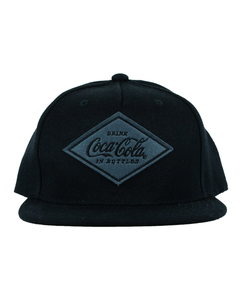 Coca-Cola Diamond Patch Flat Bill Baseball Cap