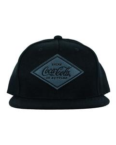 Coca-Cola Diamond Patch Flat Bill Baseball Cap