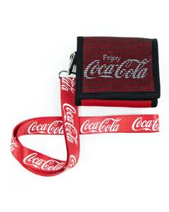Coca-Cola Mesh Wallet W/Strap