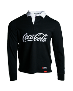 Coca-Cola X Staple Pigeon Men's Script Rugby Tee