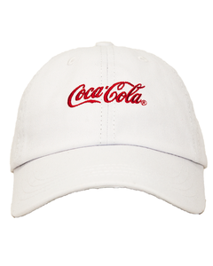 Coca-Cola X Staple Pigeon Script Dad Cap