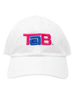 Tab Washed Slouch Baseball Cap