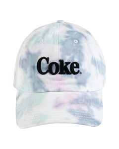 Coke Tie Dye Baseball Cap