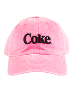 Coke Neon Baseball Cap