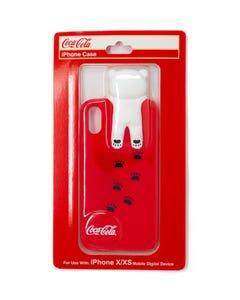Coca-Cola Polar Bear Pawprint iPhone X/XS Case