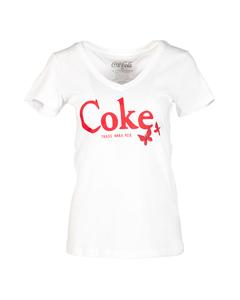 Coke Butterfly Women's V-Neck Tee