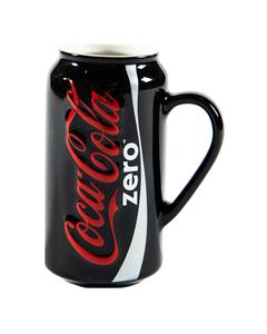 Coke Zero Can Sculpted Mug -12oz