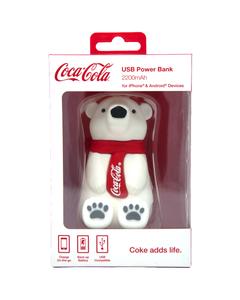 Coca-Cola Polar Bear Power Bank