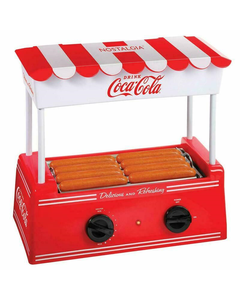 Coca-Cola Hot Dog Cooker W/Bun Warmer