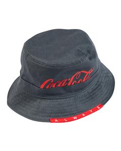 Coca-Cola Script Reversible Bucket Hat