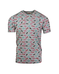 Coca-Cola All Over Print Replay Men's Tee