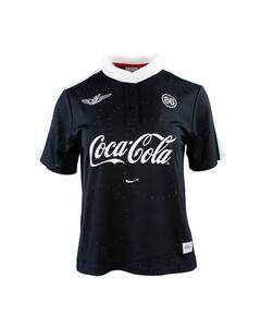 Coca-Cola Women's Mandarin Collar Tee