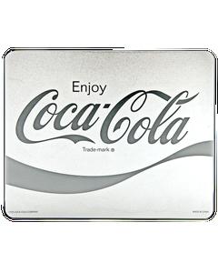 Coca-Cola Script Metallic Mouse Pad