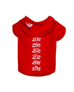 Coca-Cola Languages Pet Hoodie