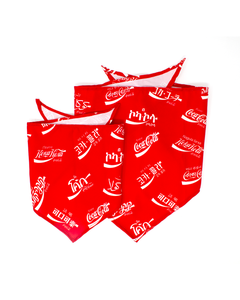 Coca-Cola Languages Pet Bandana