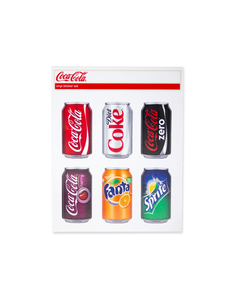 Coca-Cola Multi Brands Can Sticker Set