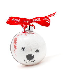 Coca-Cola Polar Bear Women's Sock Ornament