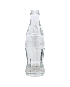 Coca-Cola Steuben Crystal 125th Anniversary Bottle