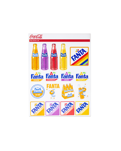 Fanta Sticker Set