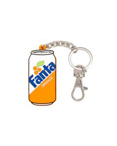 Fanta Can Silicone Keychain