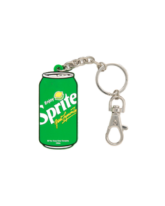 Sprite Can Silicone Keychains