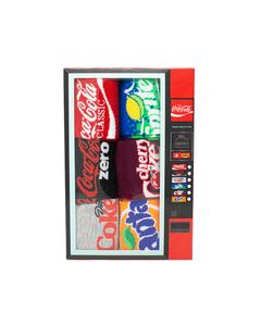 Multi Brand Women's Vending Machine Socks 6PK