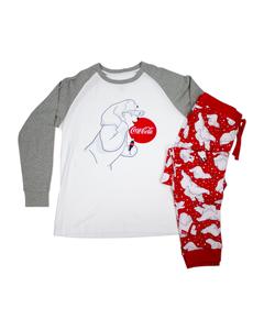Coca-Cola Polar Bear Family PJ Set - Men