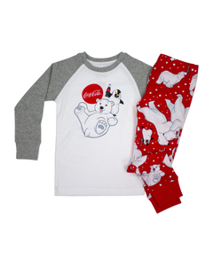 Coca-Cola Polar Bear Family PJ Set - Toddler