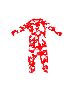 Coca-Cola Polar Bear Family PJ - Infant Onesie