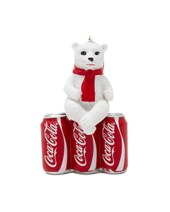 Coca-Cola Polar Bear Cub On 6PK Cans