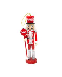 Coca-Cola Nutcracker Ornament