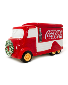 Coca-Cola Holiday Truck Snack Jar
