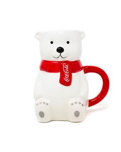 Coca-Cola Polar Bear Full Body Novelty Mug