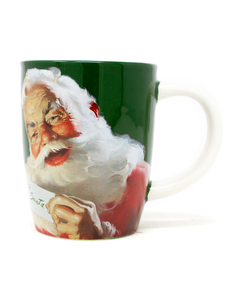 Coca-Cola Santa 'For Me' Mug -16oz