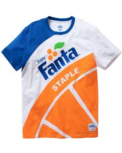 Fanta X Staple Pigeon Men's Orange Tee