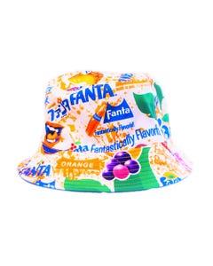 Fanta X Staple Pigeon All Over Reversible Bucket Hat