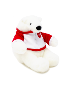 Coca-Cola Polar Bear W/Jacket Plush -6""