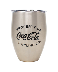 Coca-Cola Property Of Stainless Steel Tervis Tumbler