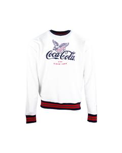 Coca-Cola Legend Men's Ringer Crew Fleece