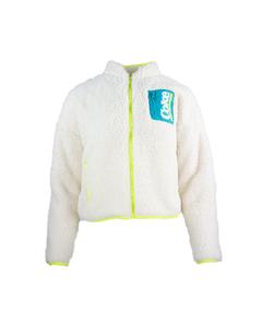 Coke Ladies Sherpa Zip Fleece Jacket