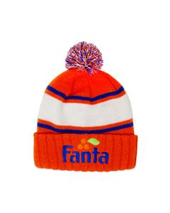 Fanta Cuff & Pom Knit Beanie