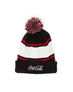 Coca-Cola Script Pom & Cuff Beanie