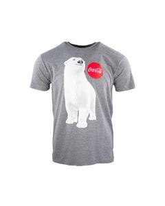 Polar Bear Unisex Tee-Heather Grey-S