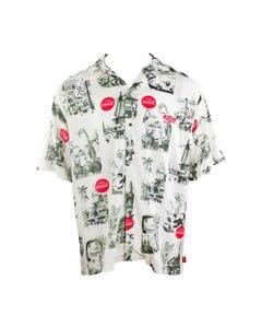 Coca-Cola Men's Traveler Woven Shirt