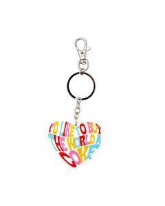 Coca-Cola Hilltop Heart  Keychain